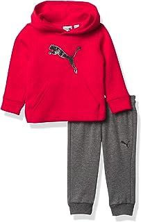 PUMA Boys' Pullover Hoodie & Jogger