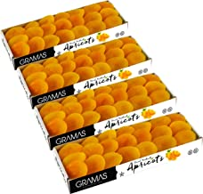 Gramas Dried Turkish Apricots, Vegan, Gluten-Free, Healthy Snack, Non-GMO, No Added Sugar, Kosher (2 lbs.)