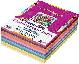 Rainbow Super Value Construction Paper, 9 x 12
