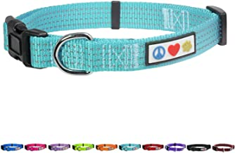 Pawtitas Dog Collar Reflective Training Puppy Collar with Stich