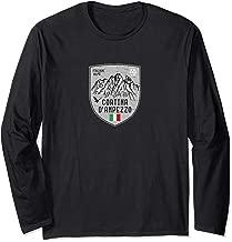 Cortina d Ampezzo Mountain Italy Emblem Long Sleeve T-Shirt