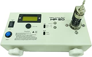 Huanyu HP-20 Digital Torque Meter Tersion Meter Screw driver Wrench Measure Tester With Calibration Certificate
