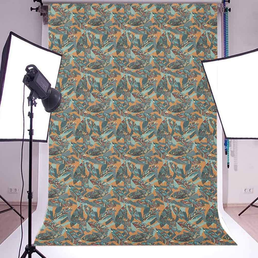 8x12 FT Vinyl Photography Background Backdrops,Winter Frame with Holly Ivy Mistletoe Spruce Fir and Pine Cones Arrangement Image Background Newborn Baby Portrait Photo Studio Photobooth Props
