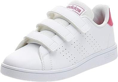 adidas Girls Shoes Running Fashion Kids Trainers School Advantage EF0221 New (33 EU - UK 1 - US 1.5)