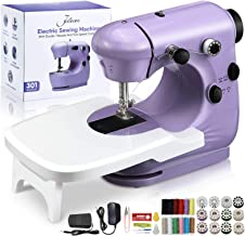 Jeteven Mini Electric Sewing Machine, Handheld Household Sewing Machine Portable Lightweight Sewing Machine for Beginners,...