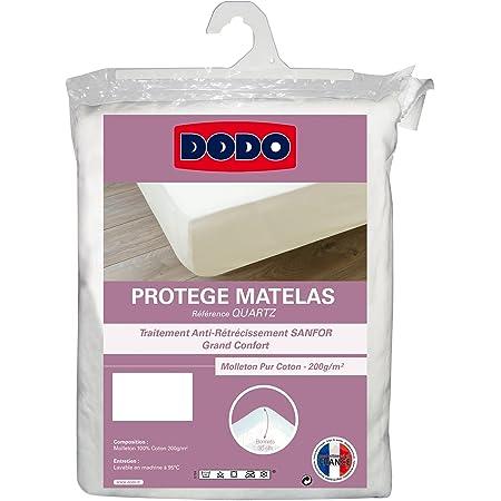 DODO PROTÈGE MATELAS QUARTZ - ABSORBANT - 140 x 190 cm (non imperméable)