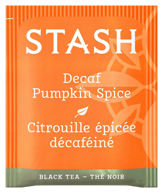 Stash Tea Decaf Pumpkin Spice Box Bags San Francisco All items free shipping Mall 100 Black of