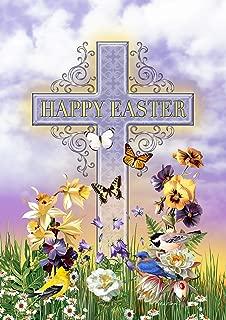 Toland Home Garden 1112392 Easter Birds 12.5 x 18 Inch Decorative, Garden Flag (12.5