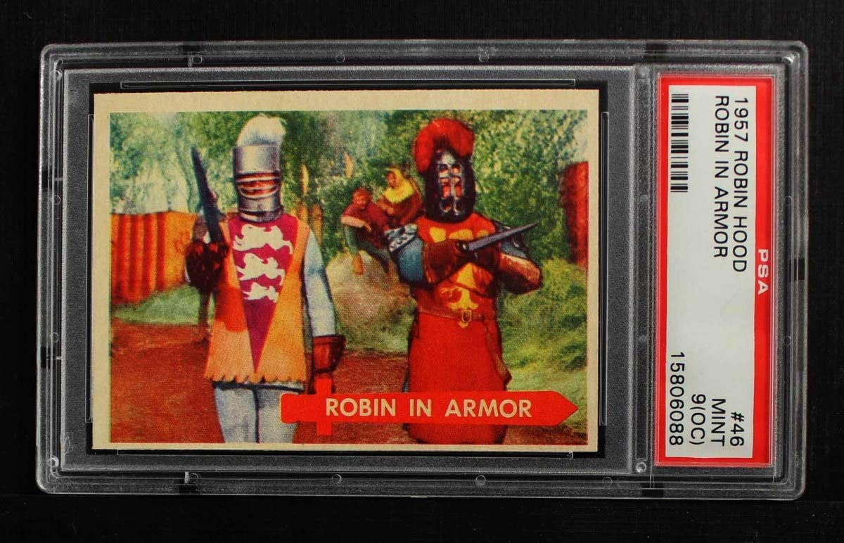 1957 Topps # Max 67% OFF 46 Austin Mall Robin Armor In PSA Card 7.00