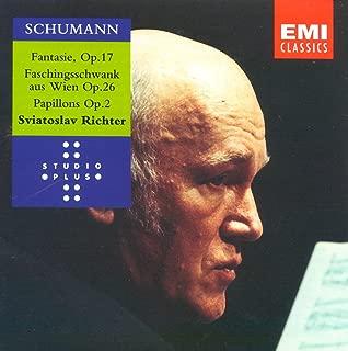 Schumann: Fantasy in C,Op.17 / Faschingsschwank aus Wien,Op.26 / Papillons
