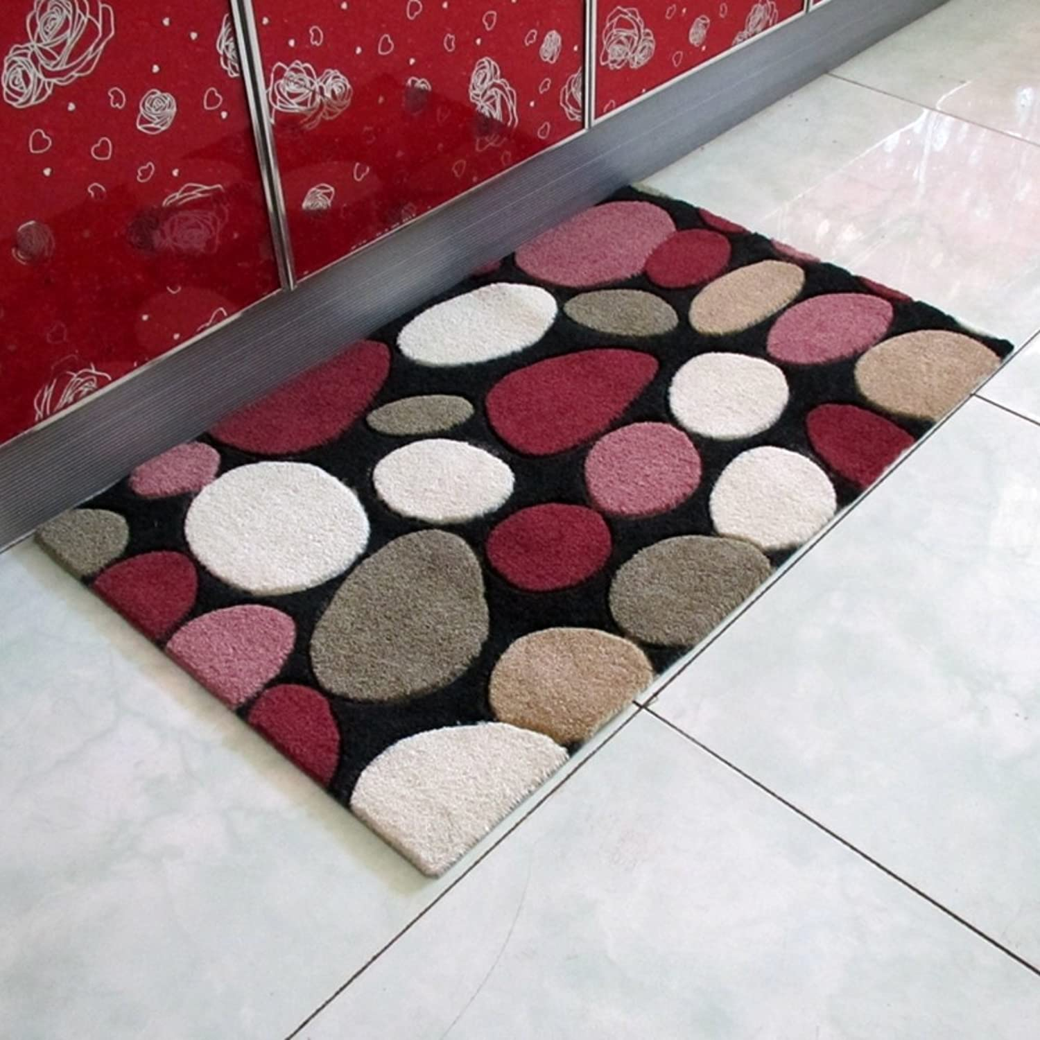 Non-slip Mat Kitchen,Restroom ,Hall,Entrance,Floor Mat Anti-slipping Mats Floor Mat-L 80x120cm(31x47inch)