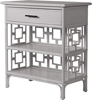 Inspired by David Francis Sahara End Table One Size Light Gray