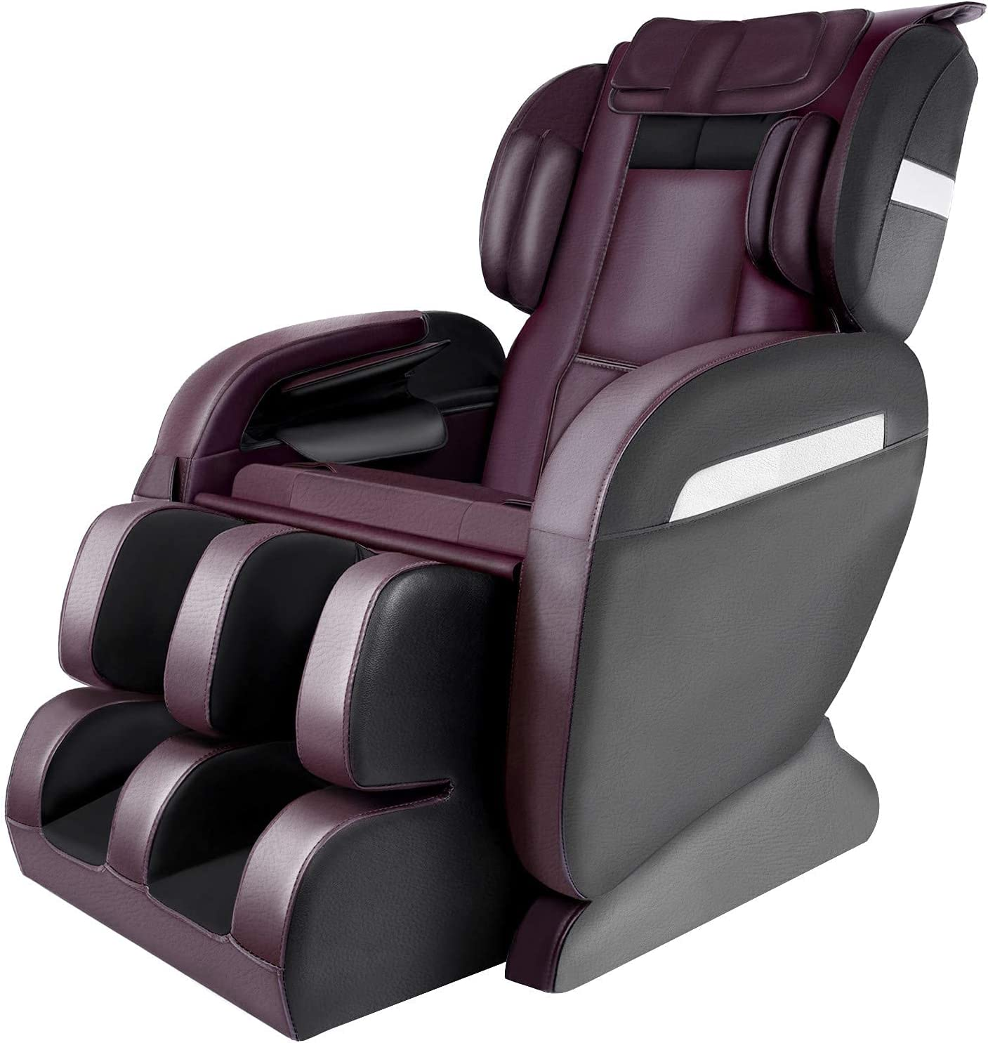 Zero Gravity Massage Chair 8D Electric Air 1 year warranty Displ Spring new work one after another Bag VFD