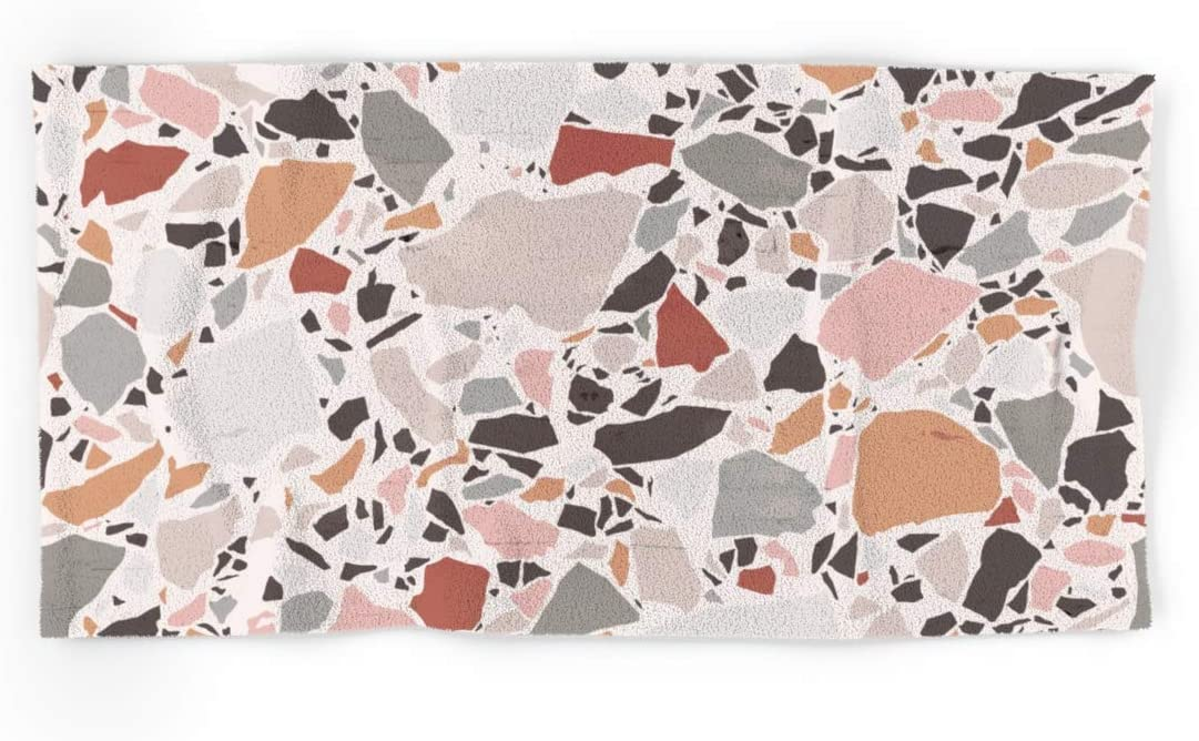 Society6 Neutral Terrazzo Earth Tone Minneapolis Same day shipping Mall on Evamatise by Abstraction