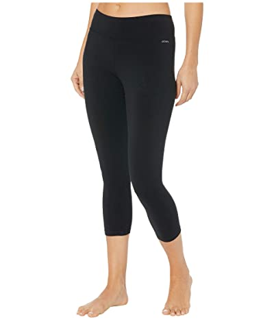 Jockey Active Capri Leggings (Deep Black) Women