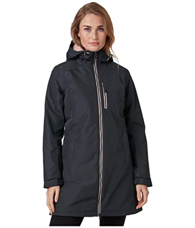 Helly Hansen Long Belfast Winter Jacket (Ebony) Women