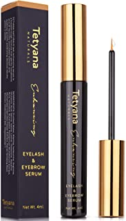 Tetyana naturals Eyelash Growth Serum for Gorgeous and Long Eyelashes & Eyebrows, with Natural Ingredients, Results within 2 Weeks