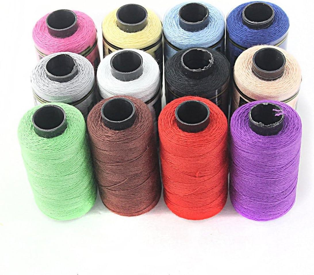 UEETEK 12pcs Yarn Sewing Popular standard Spools Coils Kit String Max 40% OFF Quilting Thread