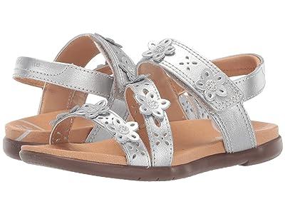 Stride Rite SRT Evie (Little Kid) (Silver) Girls Shoes
