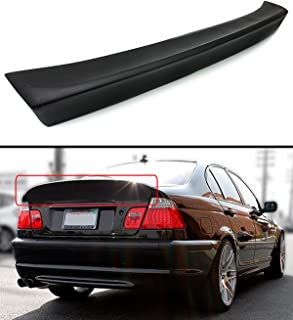 Cuztom Tuning CSL Style Rear Trunk Duckbill High Kick Spoiler Wing Fits for 1999-2005 BMW E46 3 Series 4DR Sedan