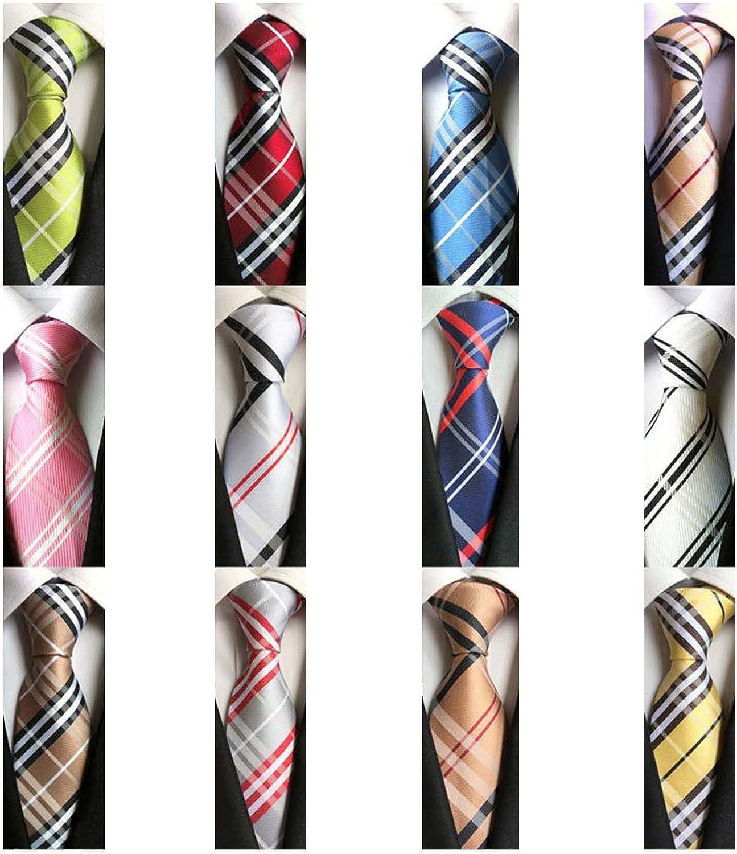 Weishang Lot 12 PCS Ranking TOP14 Classic Men's Necktie Woven New Shipping Free Shipping Silk Tie 100% JA
