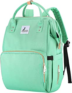 Diaper Bag Diaper Backpack - Baby Bag for Boys Girls - Nappy Changing Bag for Women / Men