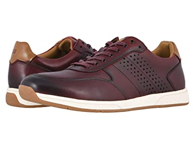 Florsheim Fusion Moc Toe Lace-Up II (Burgundy Smooth) Men