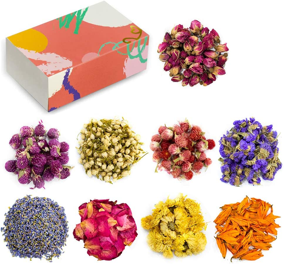 Natural Dried Flower Cash special price Kit with Resi 9 Herbs sale Bags for