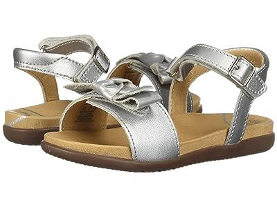Stride Rite SRT Savannah (Toddler) (Silver) Girls Shoes