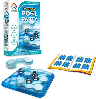SmartGames SG431 Penguins Pool Party Puzzle Game