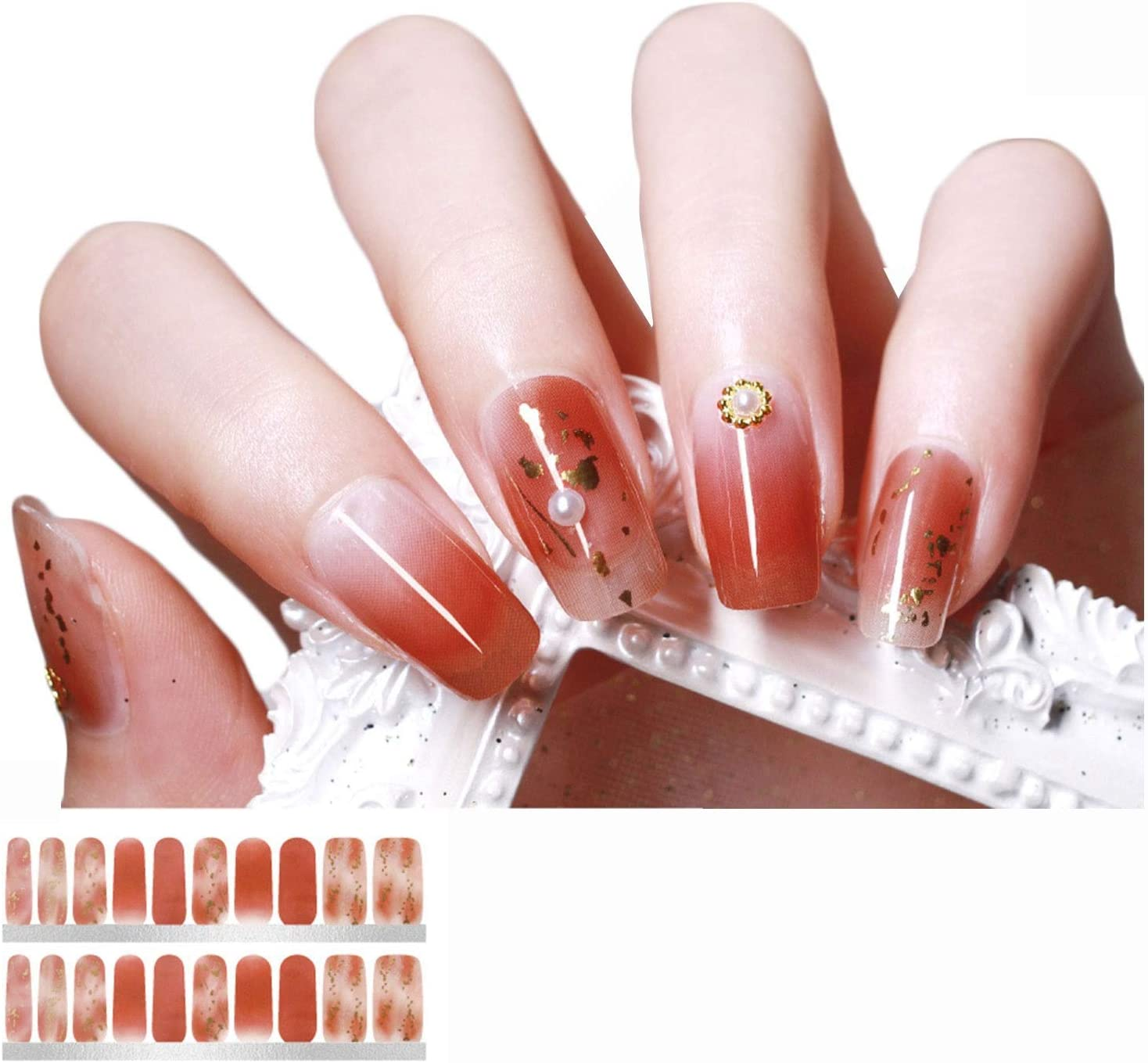 Nail Stickers Women's Super popular specialty store Patch 3D Selling Durable Waterproof and
