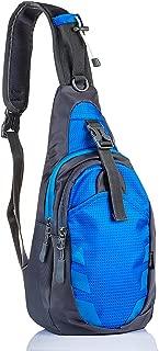 LC Prime Sling Bag Chest Shoulder Unbalance Gym Fanny Backpack Sack Satchel Outdoor Bike Nylon Fabric Orange