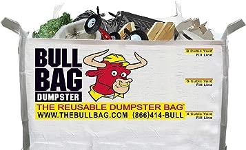 The BullBag Portable Foldable Reusable Construction Dumpster and Trash Bag