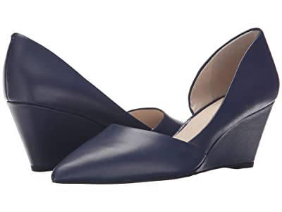 Kenneth Cole New York Ellis (Navy Leather) Women