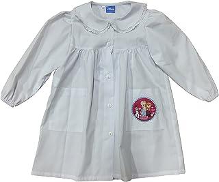 Disney Grembiule Grembiulino Bianco Prodotto Originale Frozen Scuola Materna elementare