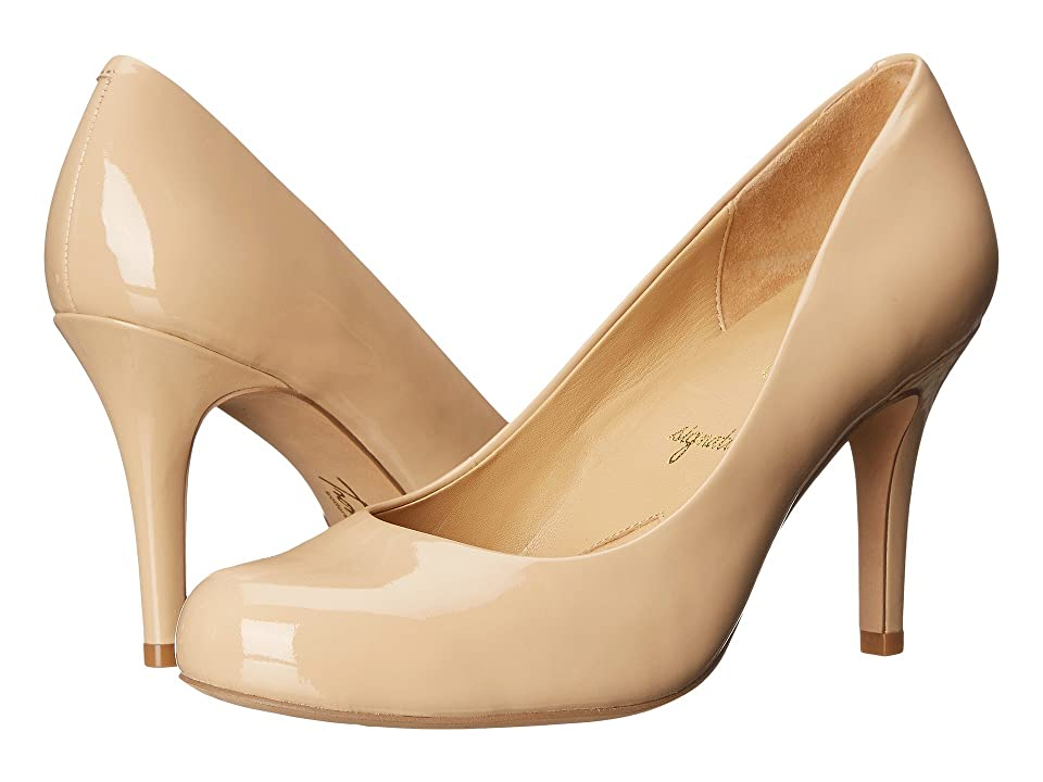 Trotters Gigi (Nude Soft Patent Leather) High Heels