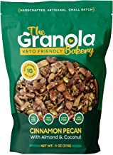 The Granola Bakery Keto Granola | Low Carb Keto Cereal | 1g Net Carb | Low Sugar Keto Snack | Small Batch, Hand Crafted | ...