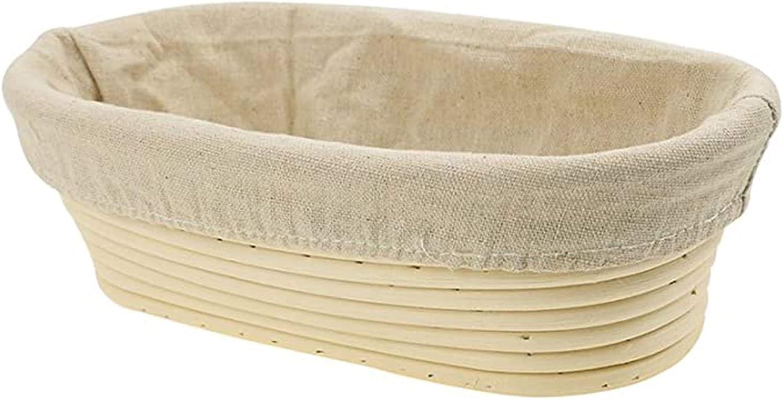 Saftebay Banneton It is very popular Bread Dough Proofing Ov Rattan Basket Fashionable Rising