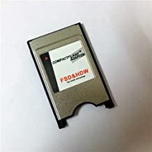 New Compactflash Card to PC Card Adapter Notebook Laptop PCMCIA Compact Flash Memory Card Reader CNC