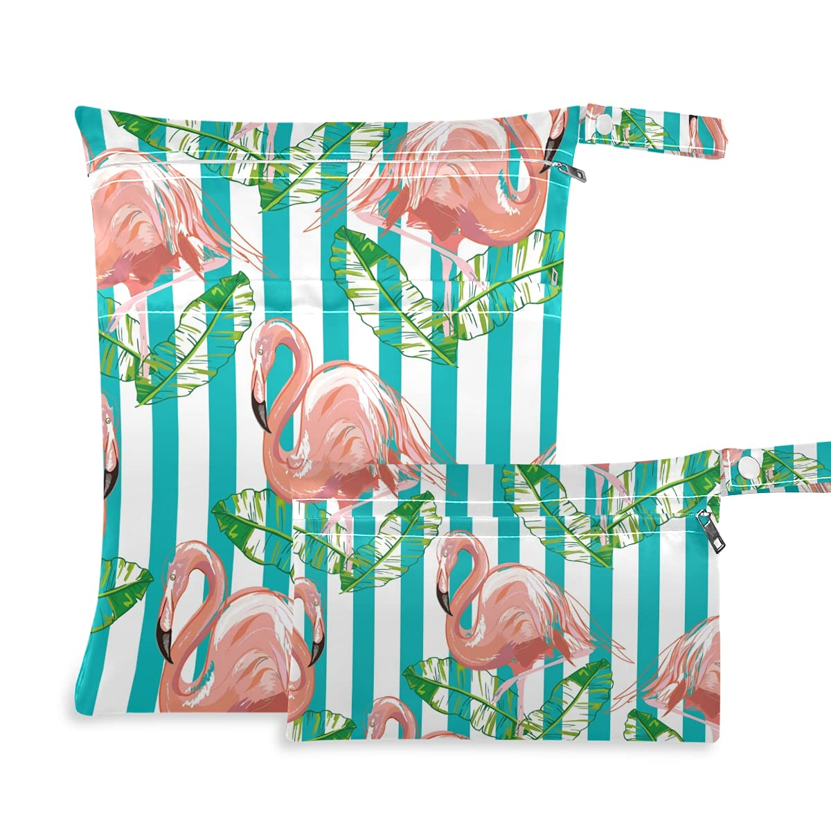 Tropical Flamingo Wet Recommended Dry Bag Diaper Swimsu Reusable Fixed price for sale