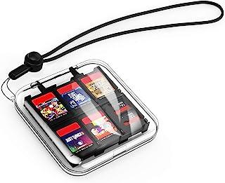 MoKo Caja Protectora Compatible con Tarjeta de Juego de Nintendo Switch, Bolsa PC Concha Dura Portátil con 12 Puestos de C...