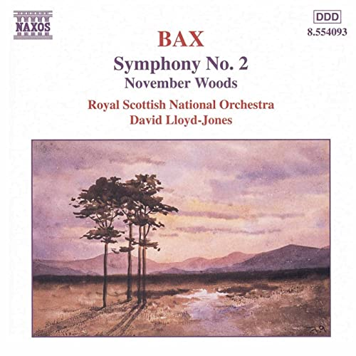 BAX: Symphony No. 2 / November Woods di David Lloyd-Jones su ...