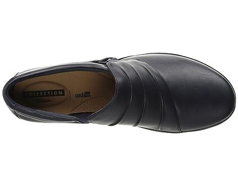 LeatherNavy LeatherDark Brown Leather Clarks Black Everlay Heidi 8n7Iq1Xt