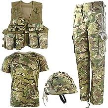 Kombat UK Children's Btp No1 Army Combo Set