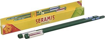 Seramis Gießanzeiger für alle Topfpflanzen, 2 Stück, Kein Batteriebetrieb, Kunststoff, Höhe: 26,2 cm, Gießanzeiger, Grün