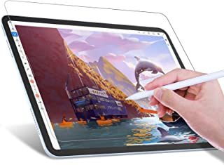 JETech Write Like Paper Screen Protector Compatible with iPad Air 4 10.9-Inch, iPad Pro 11-Inch All Models, Anti-Glare, Ma...