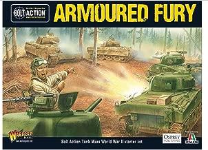 Armoured Fury Tank War Starter Set Miniatures
