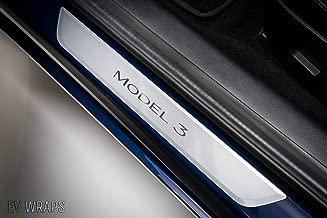 EV Wraps Tesla Model 3 Door Sill Protector – Clear (2 Pieces)