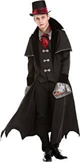Victorian Vampire Halloween Costume for Men | Scary, Classic Dracula Dress Up