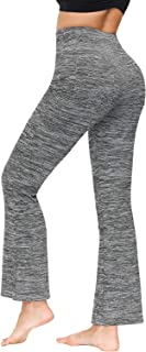 Zexxxy Women's Bootcut Yoga Pants Long Workout Pants